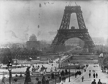 Tour Eiffel July 1888